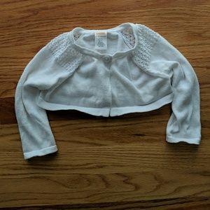 Girls Bolero style sweater